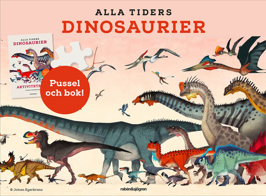 Alla tiders dinosaurier - pysselbox