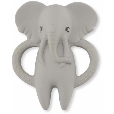 Bitleksak i naturgummi - Elefant