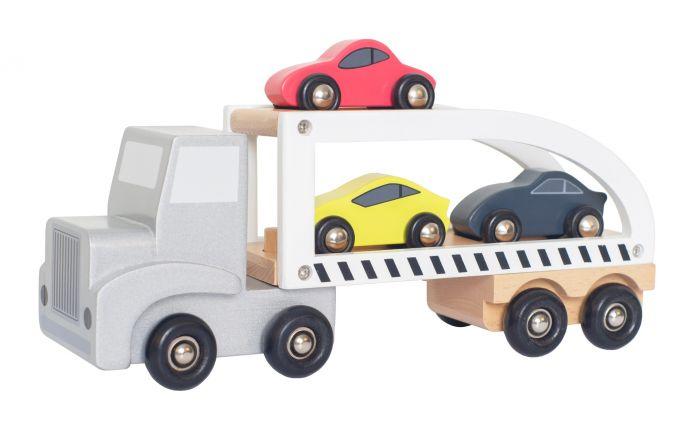 Trailer med sportbilar