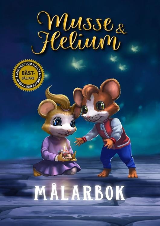 Musse & Helium målarbok