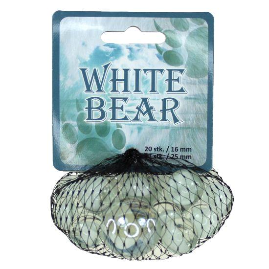 Spelkulor - White Bear