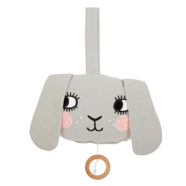 Speldosa - Kanin med långa öron