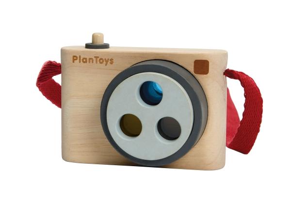 Kamera med färger