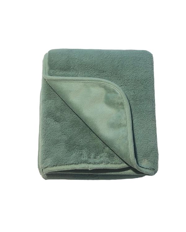 Filten Fluffy- Grön