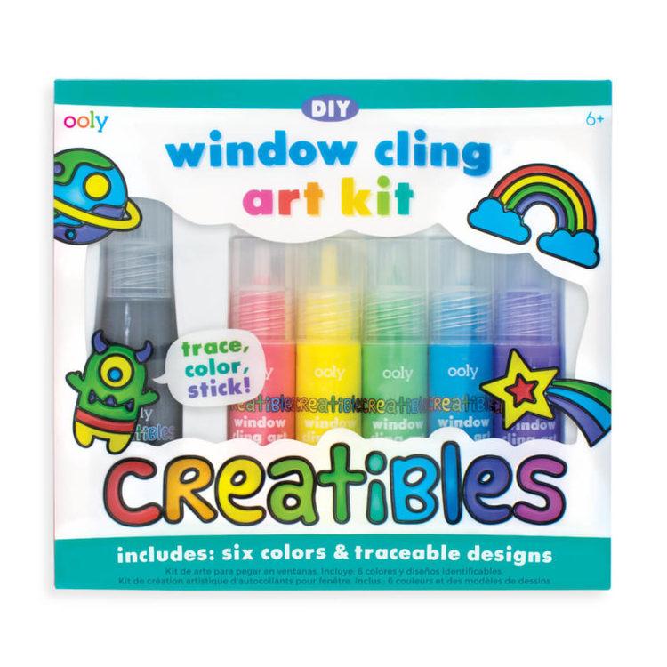 Creatibles window art - Fönsterstickers