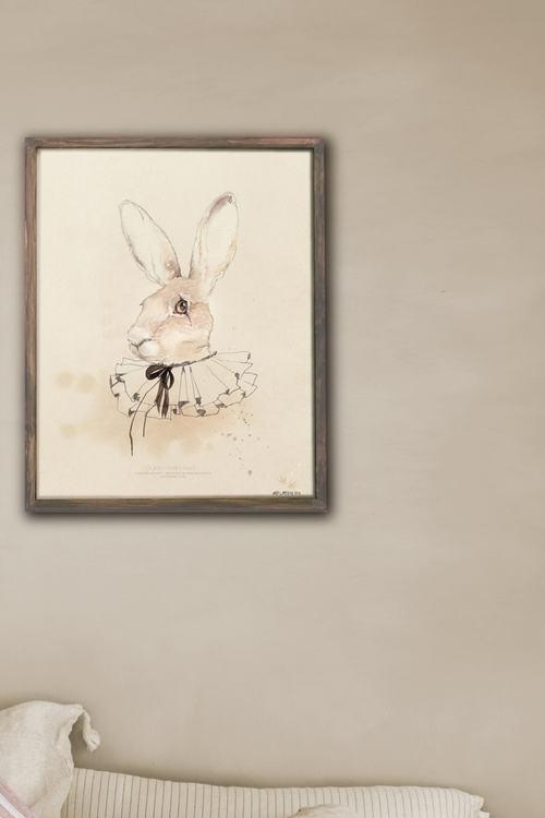 Poster 30*40 cm - Lady Chestnut