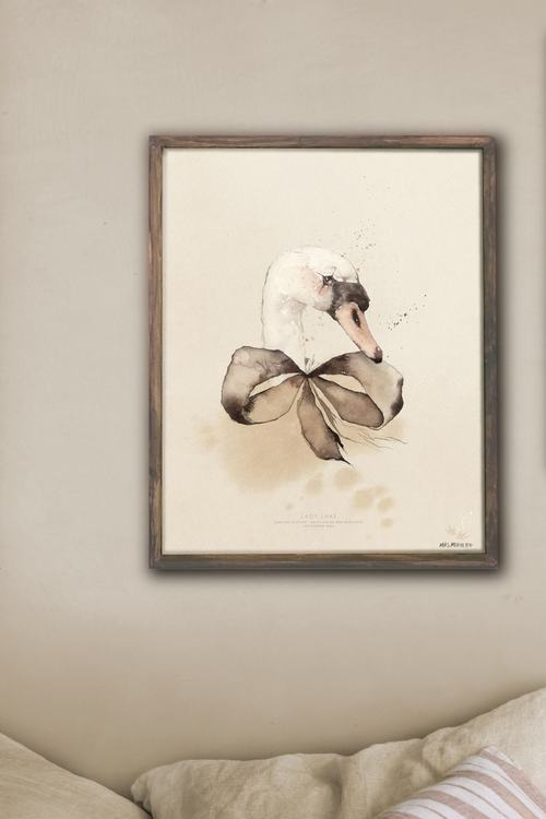 Poster 30*40 cm - Lady Lake