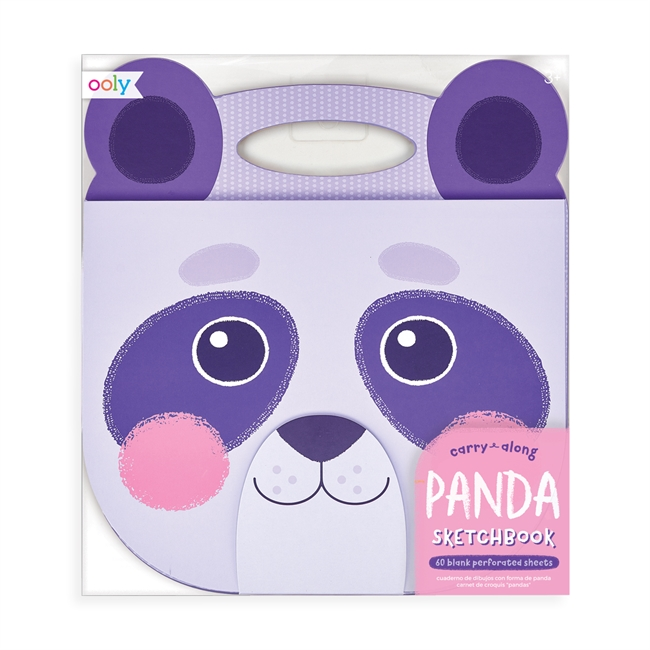 Målarbok med handtag - Panda