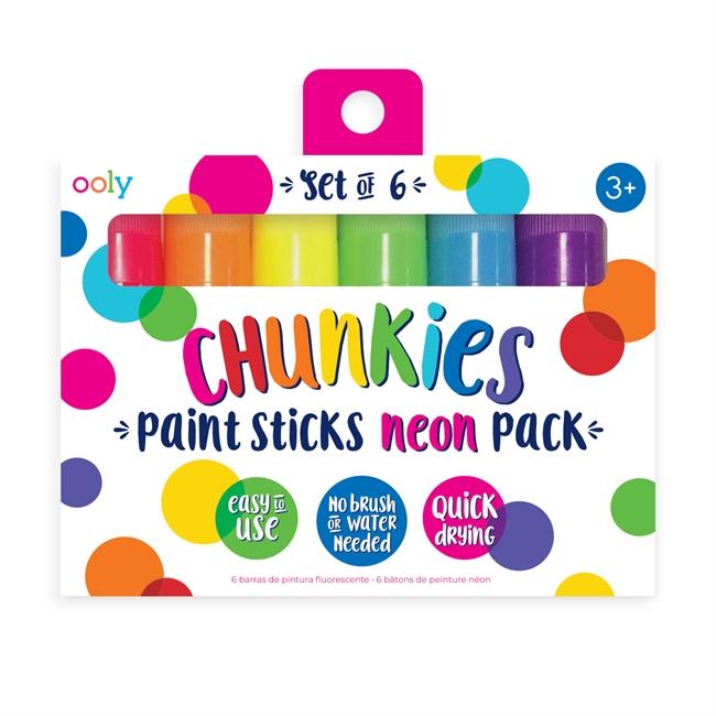 Gelkritor Chunkies 6 pack - Neon