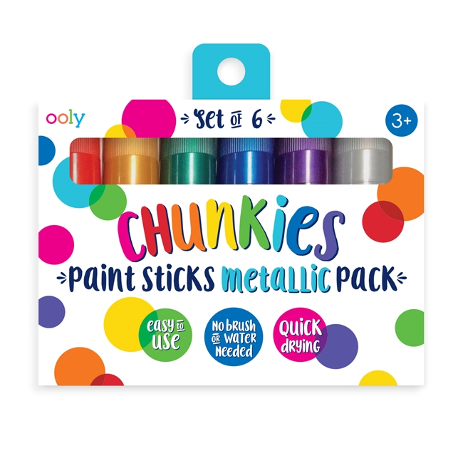 Gelkritor Chunkies 6 pack - Metallic