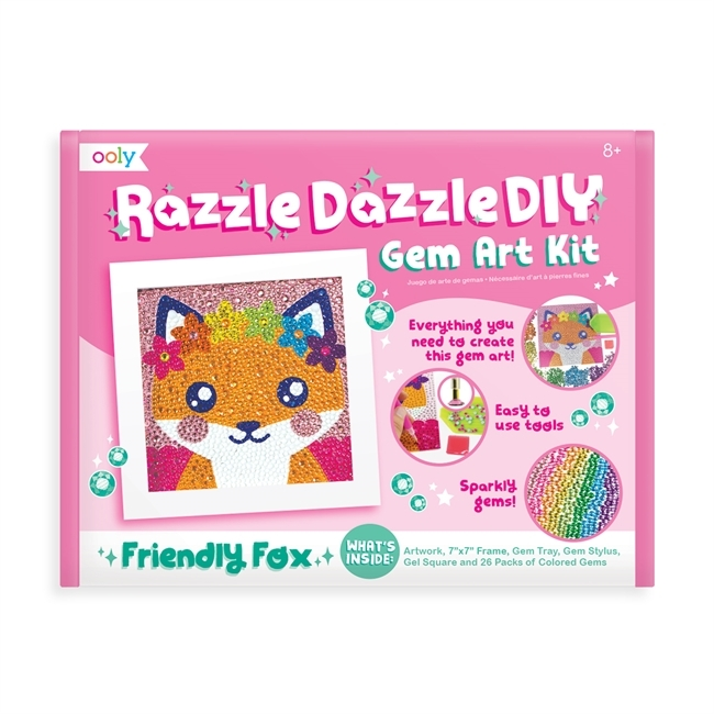 Razzle Dazzle DIY art kit  - Räv