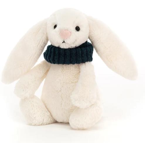 Gosedjur - Liten kanin med halsduk