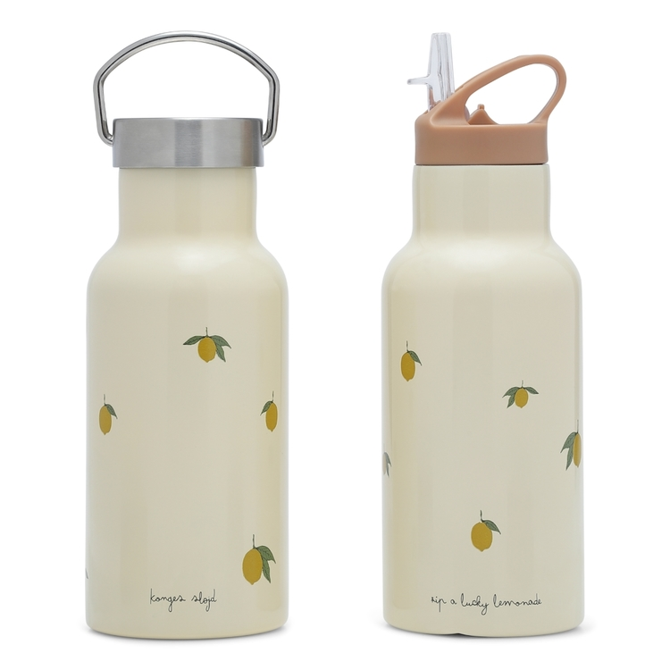 Vattenflaska / termos i stål - Lemon