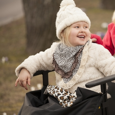 Cab-on för barn i rullstolcta image