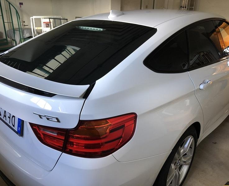 BMW 3-serie Gran Turismo med solfilm