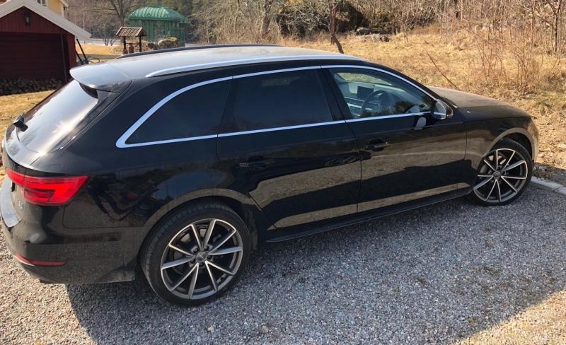 Nya Audi A4 Avant med solfilm