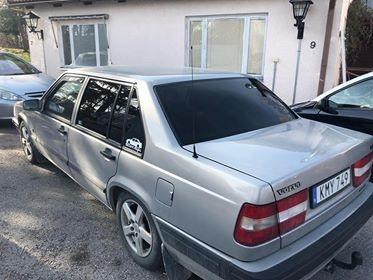 Volvo 940 med solfilm