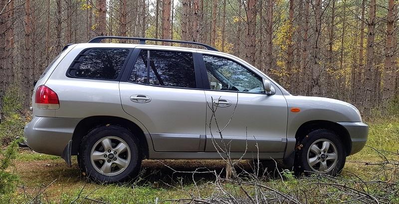 Hyundai Santa Fe med solfilm