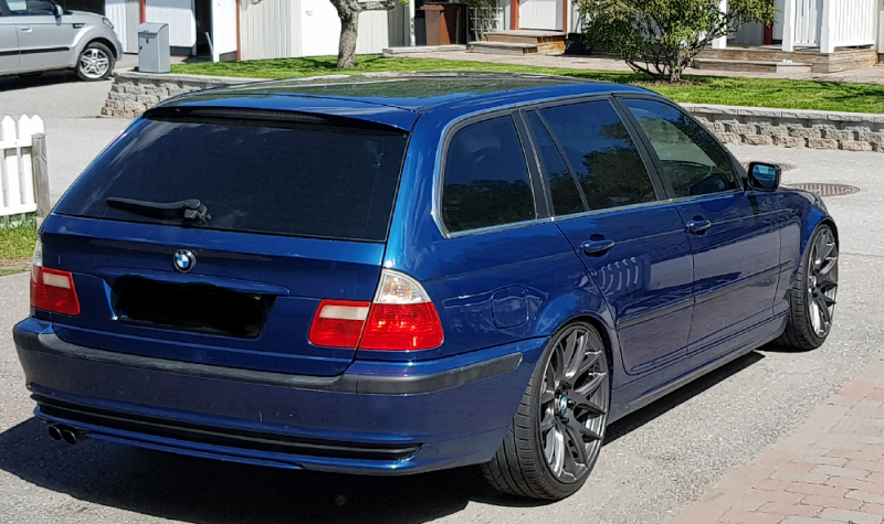 BMW 3-serie Touring med solfilm