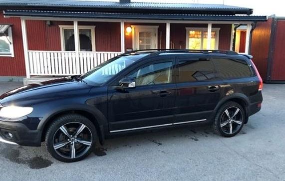 Volvo XC med tonade rutor