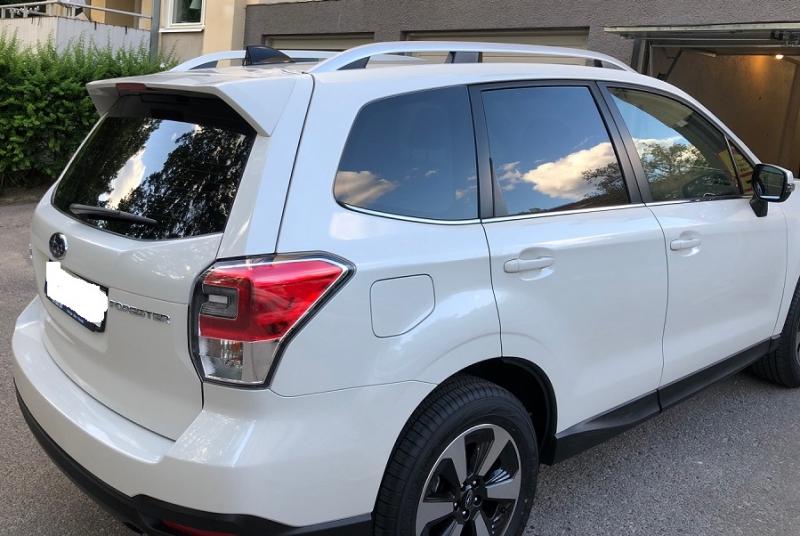 Subaru Forester med solfilm