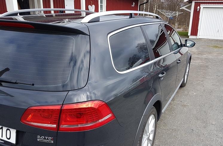 VW Passat med solfilm