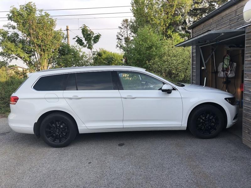Nya VW Passat med solfilm