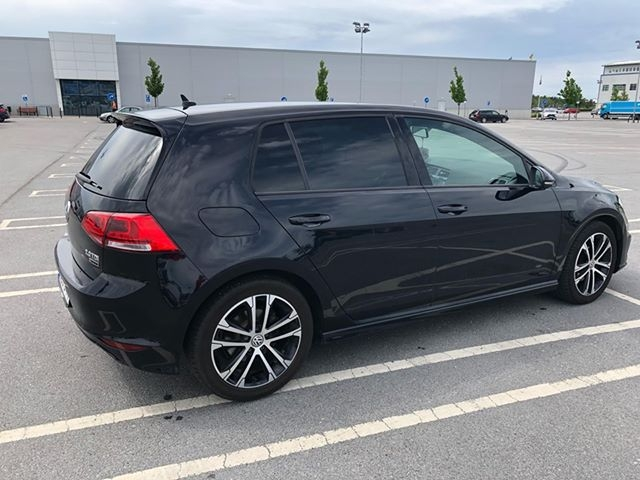 VW Golf med EVOFILM
