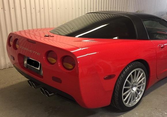 Corvette C5 med tonad bakruta