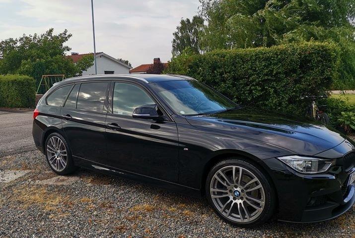BMW F31 med EVO 95 och EVO 25