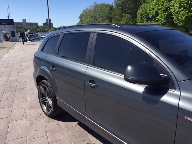 Audi Q7 med solfilm