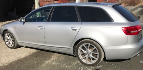 Audi A6 Avant med solfilm