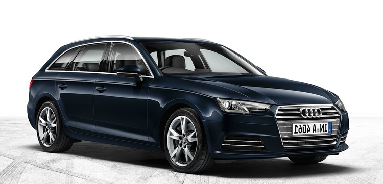 Solfilm Audi A4 Avant. Färdigskuren solfilm till alla Audi från EVOFILM®.