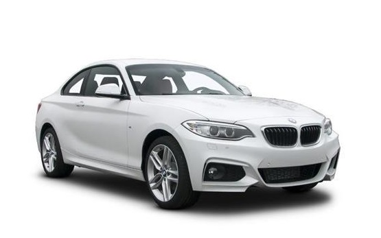 Solfilm BMW 2-serie coupé. Färdigskuren solfilm till alla BMW från EVOFILM®.