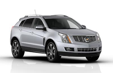 Solfilm till Cadillac SRX. Färdigskuren solfilm till alla Cadillac bilar från EVOFILM®.