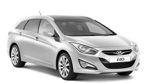 Solfilm till Hyundai i40. Färdigskuren solfilm till alla Hyundai bilar från EVOFILM®.
