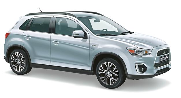 Solfilm till Mitsubishi ASX Plus.  Solfilm till alla Mitsubishi bilar från EVOFILM®.