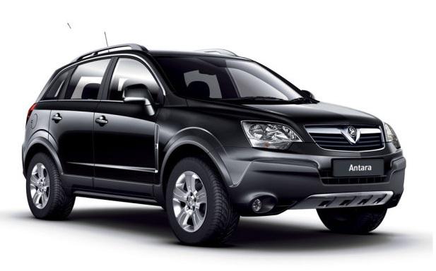Solfilm till Opel Antara. Solfilm till alla Opel bilar från EVOFILM®.