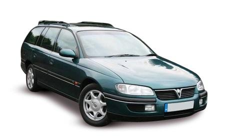 Solfilm till Opel Omega. Solfilm till alla Opel bilar från EVOFILM®.