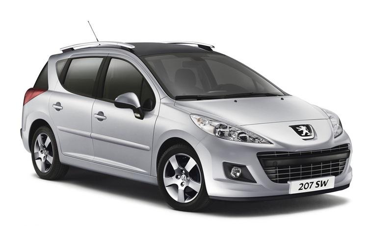Solfilm till Peugeot 207 SW. Färdigskuren solfilm till alla Peugeot bilar från EVOFILM®.