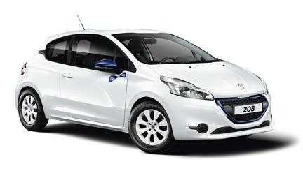 Solfilm till Peugeot 208 3-dörrar. Färdigskuren solfilm till alla Peugeot bilar från EVOFILM®.