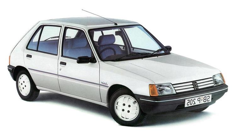 Solfilm till Peugeot 205. Färdigskuren solfilm till alla Peugeot bilar från EVOFILM®.