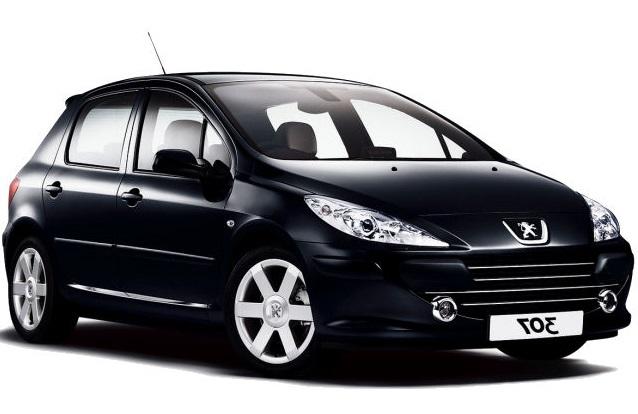 Solfilm till Peugeot 307. Färdigskuren solfilm till alla Peugeot bilar från EVOFILM®.