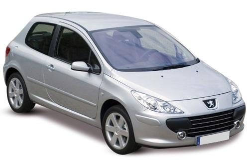 Solfilm till Peugeot 307 3-dörrar. Färdigskuren solfilm till alla Peugeot bilar från EVOFILM®.