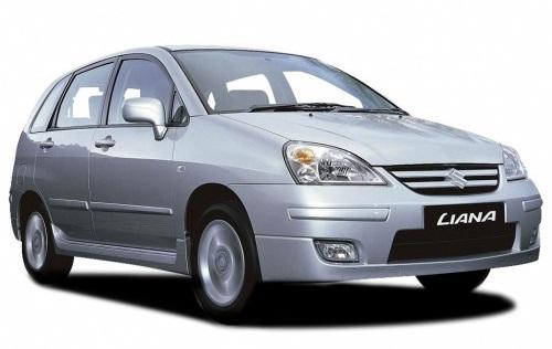 Solfilm till Suzuki Liana. Färdigskuren solfilm till alla Suzuki bilar från EVOFILM®.
