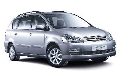 Solfilm till Toyota Avensis Verso. Solfilm till alla Toyota bilar från EVOFILM®.