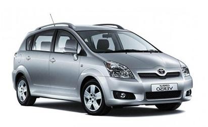 Solfilm till Toyota Corolla Verso. Solfilm till alla Toyota bilar från EVOFILM®.