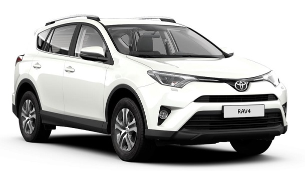 Solfilm till Toyota RAV4. Solfilm till alla Toyota bilar från EVOFILM®.