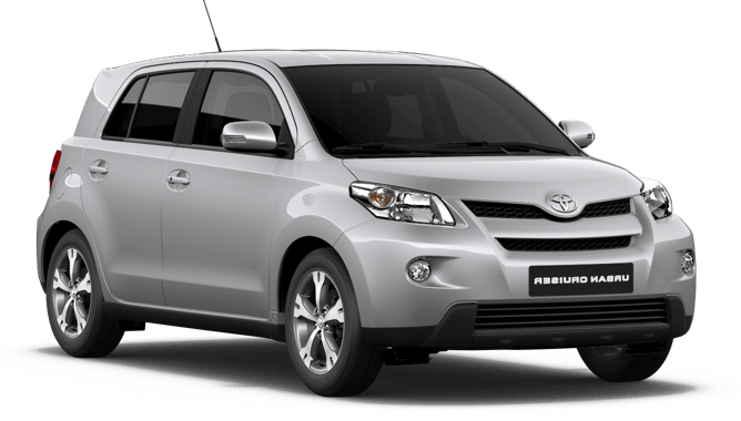 Solfilm till Toyota Urban Cruiser. Solfilm till alla Toyota bilar från EVOFILM®.