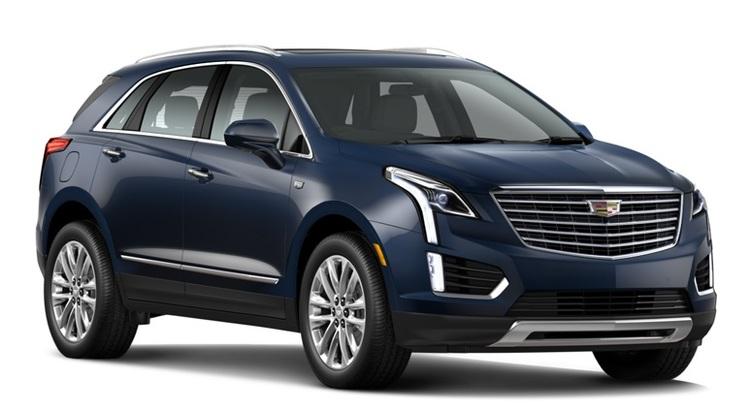 Solfilm till Cadillac XT5. Färdigskuren solfilm till alla Cadillac bilar från EVOFILM®.